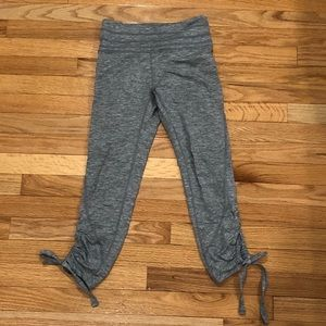 FP Movement Grey Lace-up Crop Legging XS